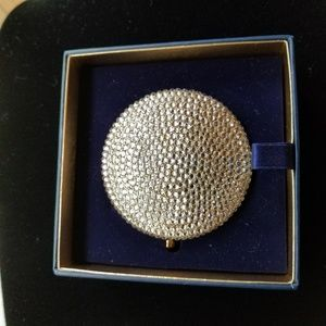 Estee Lauder Crystal Gold Compact Double Mirror